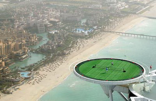 Tennis On Helipad 02