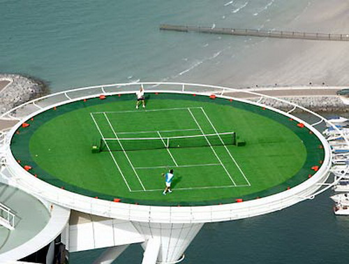 Tennis On Helipad 03