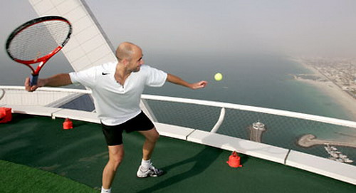 Tennis On Helipad 04