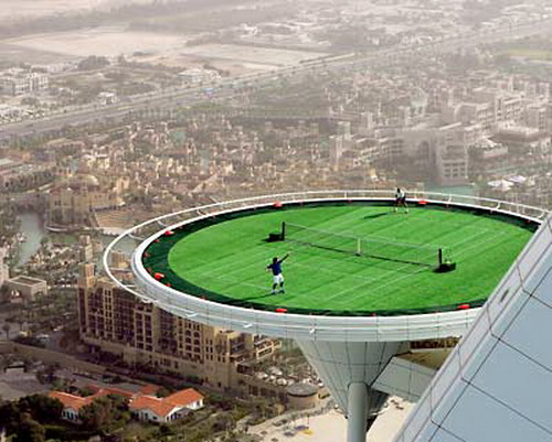 Tennis On Helipad 08