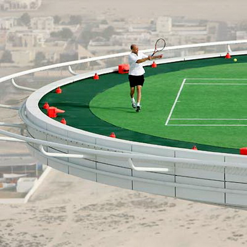 Tennis On Helipad 09