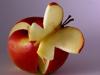D. apple