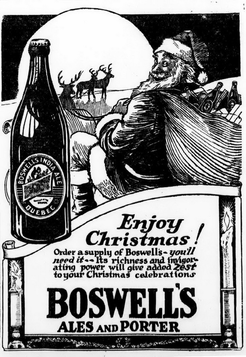 Boswell's Beer and Santa Claus