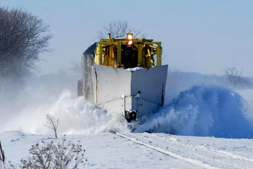Strange Snow Train
