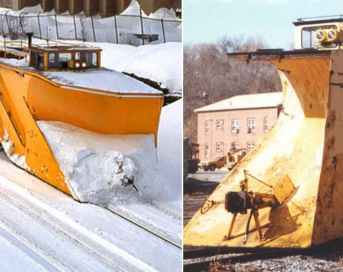 Weird Snow Train