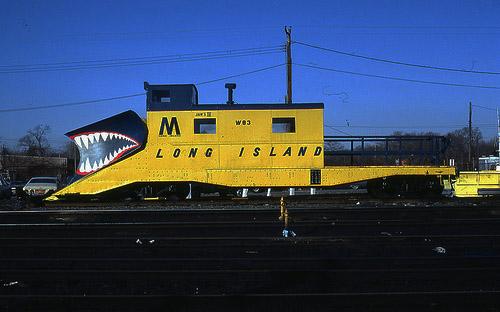 Jaws III Snow Giant Train