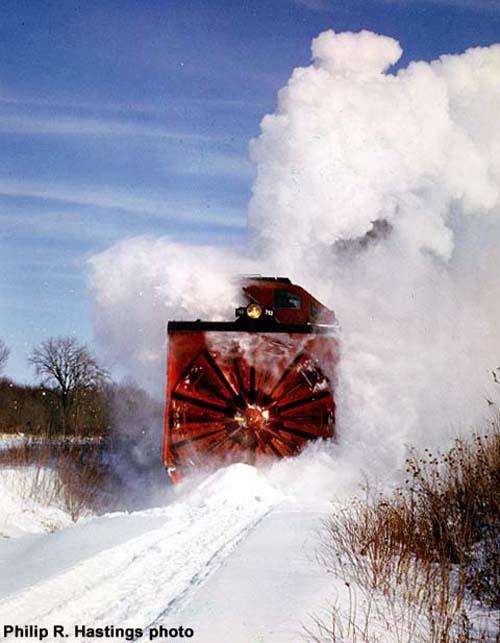 Winter Train Rotary Snow Blower