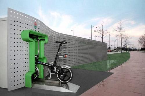 Bikedispenser bicycle vending machine