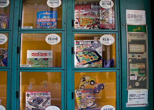 Board Games Vending Machine