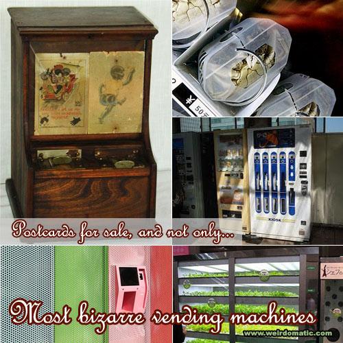 weird vending machines