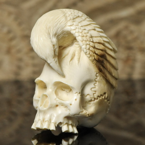 Weird human skull replicas weirdomatic