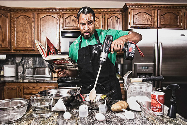Funny Guy Cooking